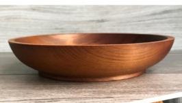 Тарелка из сибирской пихты