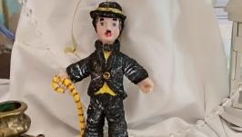 Елочная игрушка ′Незабвенный Чаплин′