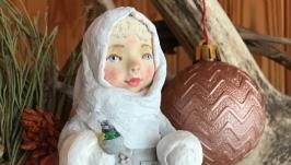 Лялечка - підвіска, ялинкова прикраса