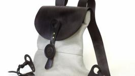 Кожаный рюкзак ′City-2′