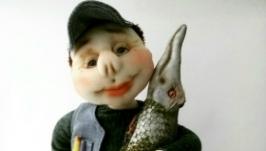 Кукла рыбак