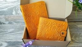 Подарунковий набір жовтий лев  (2 предмета)