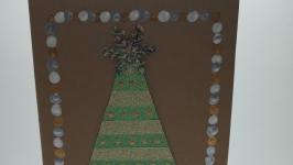 Открытка ручной работы ′Рождественская елочка′