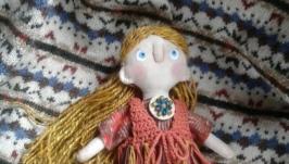 Текстильная кукла Туся