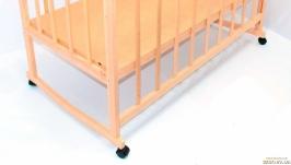 Кроватка качалка детская, деревянная 3 уровня