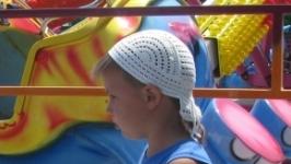 Літня панамка-бандана для хлопчика