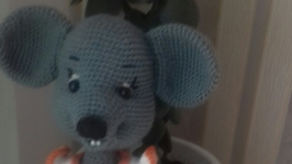 Мышка-веселушка Шуша