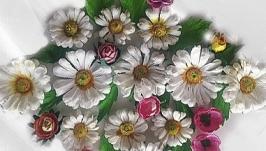 Цветы для скрапработ Ромашковый микс