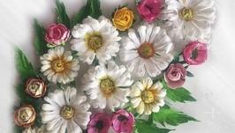 Цветы для скрапработ Ромашковое поле