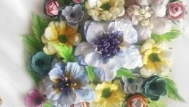 Цветы для скрапа Цветочная поляна.