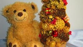 Декоративная новогодняя (рождественская) елочка,новогодний декор