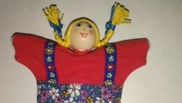 Народная кукла: Петрушка