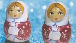 Игрушка на елку-магнит ′Снегурочка′