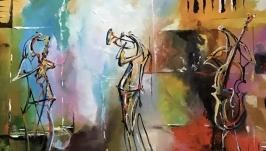 Абстракция,арт «Воздушный джаз»