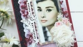 Винтажный блокнот ′Одри′