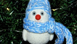 Елочная игрушка ′Снеговик′