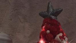 Светящаяся ёлочка из сизаля ′Совушка′