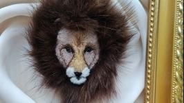 Брошь ′Лев