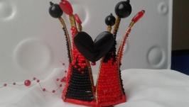 Красно-черная корона