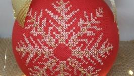 Ялинкова прикраса ′Сніжинка′