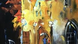 Абстракция,арт «Старый город»