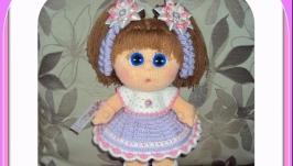 Мастер-класс наряда для куклы ′СИРЕНЕВАЯ ДЫМКА′