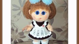 Мастер-класс наряда для куклы ′ШКОЛЬНАЯ ФОРМА′