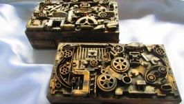 Купюрницы, шкатулки в стиле Steampunk (Стимпанк)