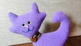 Маленькие флисовые котики