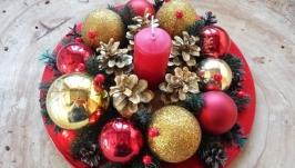 Підсвічник різдвяний, новорічний
