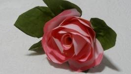 Троянди ручної роботи 5 шт в комплекті