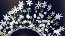 Діадема СніжинкаСнігова королева