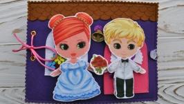 Кукольный домик  для Рыжика и Блондина