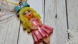Кукла кулон