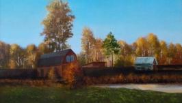 Осенний вечер на даче