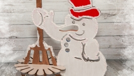 Сніговик - серветниця
