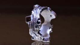 Авторское серебряное кольцо Радужное