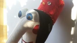 Баба Яга (нарядная)из мультфильма про домовенка Кузю