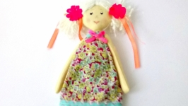 кукла из хлопка игровая