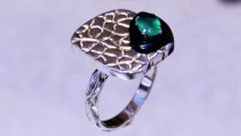 Авторское серебряное кольцо Клеопатра