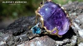 Авторское серебряное кольцо Таймлесс