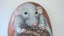 Мышь -камень