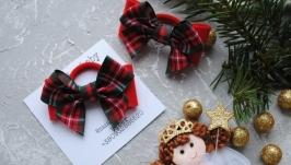Бантики  різдвяні