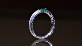 Авторское серебряное кольцо Катрин