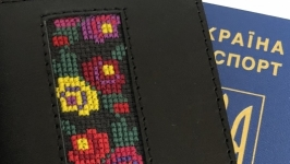 Обкладинка для паспорта, обложка для документів