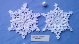 Сніжинки 2шт