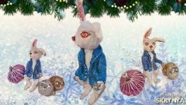 Ватяна іграшка Кролик