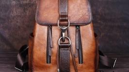 Кожаный рюкзак Rovinso