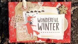 Открытка ′Wonderful winter′