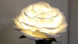 Настольная лампа -роза